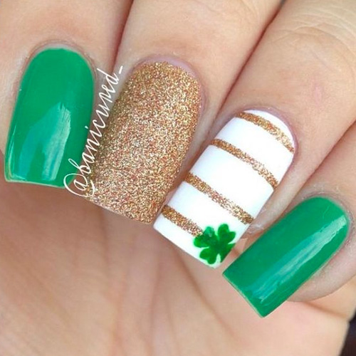 Best St Patrick S Day Nails 17