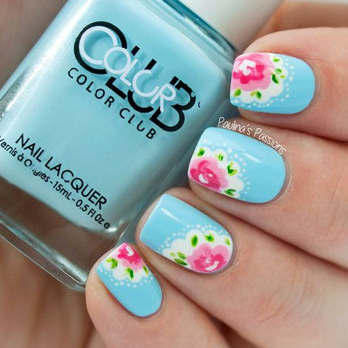 Nail Arts By Rozemist Cath Kidston Vintage Inspired: 31 Best Spring Nails For 2019