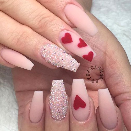 Nail Art Valentines: 31 Cute Valentine's Day Nails For 2020
